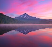 Randomly Trillium Lake by Darren White  Photography