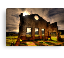 Better Times - Blast Furnace Park -, Lithgow NSW Australia - The HDR Experience Canvas Print