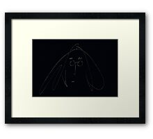 They may say I'm a dreamer... Framed Print