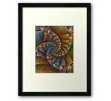 PONG 4 tweak2 -Ccrazy Autumn-abstractjoys + Parameter Framed Print