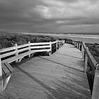 Sandy Point Boardwalk &amp; Beach by Will Hore-Lacy