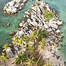 Miniature Boulders - Belitung by ferryvn