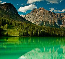 Emerald Lake by Suraj Mathew