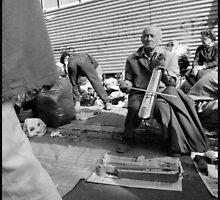 pontic street musician  by kostathomas