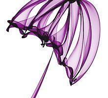 Purple Umbrella by Ann Garrett