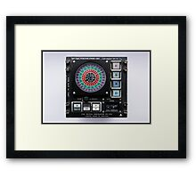 Dectrac Position Fixing Unit Mk.19 Framed Print