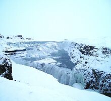 Gullfoss Falls, Iceland by chipster