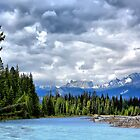 Kootenay National Park Scenery, BC, Canada by Teresa Zieba