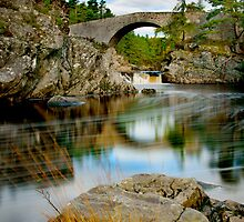 Little Garve Bridge by John Ellis