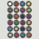 United Colours (of vinyl) by modernistdesign