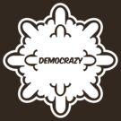 democrazy 2010 - promotional shirt - v1.0 invert by o0OdemocrazyO0o