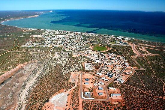 Denham Australia  City new picture : Denham Town Aerial