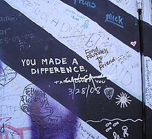 You Made a Difference by wordthrift