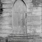 Historic Tasmanian church portal by Julie Sleeman