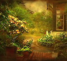 """The Little Brick Pathway ..."" by Rosehaven"
