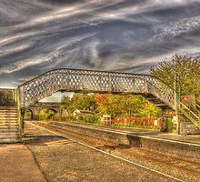 Railway Pedestrian Bridge by Chris Thaxter