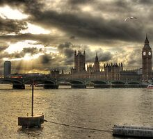 Westminster Bridge - London, England by Graham Ettridge