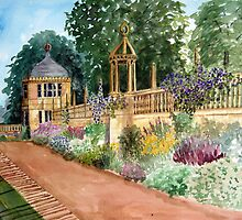 Montacute House Gardens, Yeovil, Somerset by Timothy Smith