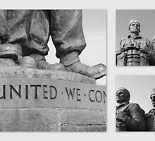 Standing Proud - 2nd World War Commando Memorial, Scotland by dawnandchris