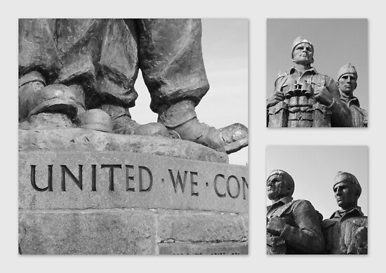 Standing Proud - 2nd World War Commando Memorial, Scotland by dawnandchris