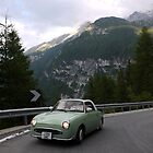 little green car on the stelvio pass by El23