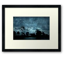 Stormy Weather © Framed Print