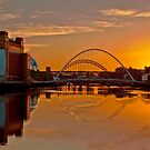 River Tyne Sunset by Phil-Edwards