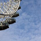 The London Eye by Stefan D