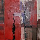 Triptych In Red by Christine Clarke