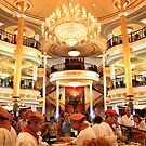 Time for lunch. Adventure of the Seas Cruise. by tereza del pilar