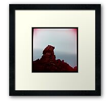 the lost land Framed Print