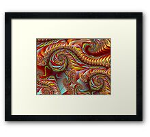 PONG4-Autumn in the Breeze-nclames2 + Parameter Framed Print