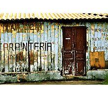 Carpintería Photographic Print