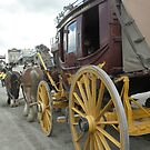 Ballarat-Geelong Stagecoach - Main Street Sovereign Hill by judygal