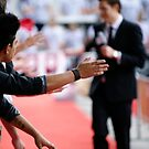 Hands at the red carpet by Adam Jones