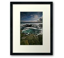 9 Framed Print