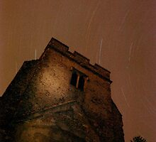 Star Trails at St Mary's by Dave Godden