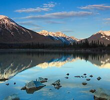 West Vermillion Lake at Sunrise by Michael Collier