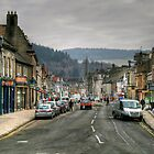 Looking Up High Street, Peebles by Christine Smith