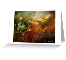 Never Just One Rainy Day (Art & Poetry) Greeting Card