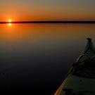 Lake Drummond Sunset by Andreas Mueller