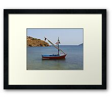 Oh! The Colours Framed Print