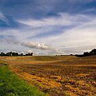 A Bright Autumn Day in Suffolk by Geoff Carpenter