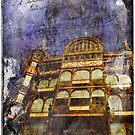 Old England Forgotten Postcard – Brussels, Belgium by Alison Cornford-Matheson