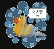♥ Rubber Ducky ♥ -slightly less girly version by Octochimp Designs