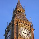 Big Ben close-up by Stephanie Owen
