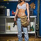 Caution: Models At Work - The Plumber by Jeff Zoet