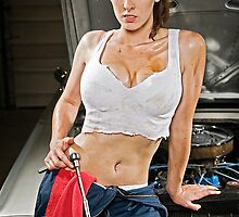 Caution: Models At Work - The Mechanic by Jeff Zoet