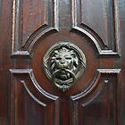 Lion Door Knocker by Lee d&#x27;Entremont