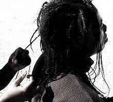 Braiding Hair by iamelmana